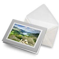 Greetings Card (Grey) - Ullswater Lake District Arnison  #14250