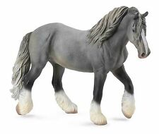 CollectA New * Shire Mare - Grey * 88574 Draft Breyer Corral Pals Model Horse