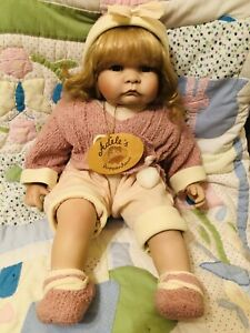 Beautiful 22 In Baby Doll China Head Arms Legs Never Played With