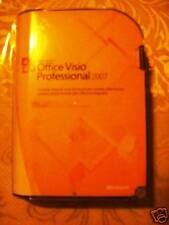 Microsoft Office Visio Professional 2007, SKU D87-02785, Full Retail Package
