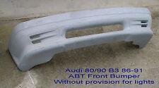 Audi 80 / 90 B3 QUATTRO GENUINE ABT FRONT BUMPER (NO Provision for lights)