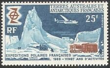 FSAT-TAAF 1969 Polar/Transport/Plane/Helicopter/Tractor/Aviation 1v (n28152)