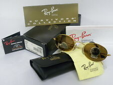 New Vintage B&L Ray Ban Classic I 1 Oval Gold Survivors Diamond Hard W1909 NOS