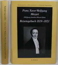 1994 FRANZ MOZART HIS CONCERT TRAVEL TOURS GERMAN TEXT