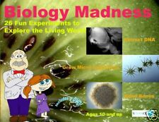 BIOLOGY MADNESS SCIENCE KIT with 25 FUN EXPERIMENTS + INSTRUCTIVE DVD & BOOKLET