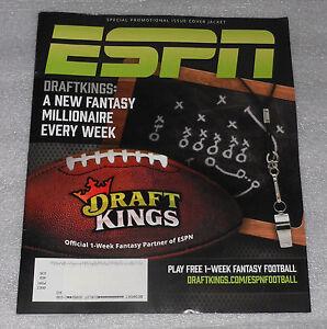 ESPN Magazine September 28 2015 Transactions Issue DeMarco Murray Draft