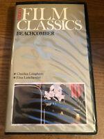 Film Classics Beachcomber 1938 VHS VCR Tape Movie Charles Laughton Used