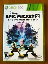 Disney Epic Mickey 2 The Power of Two Xbox 360 Game