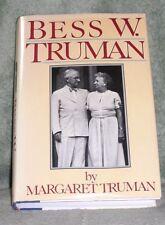 BESS W. TRUMAN by MARGARET TRUMAN  1986 HC/DJ ~ 1st Edition 1st Printing + Cover