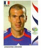 PANINI FIFA WORLD CUP GERMANY 2006 FIGURINA N. 467 ZINEDINE ZIDANE (FRANCE)