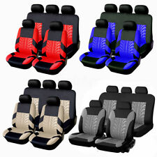 Universal Protectors Full Set Auto Seat Covers Fit For Car Truck SUV Van 4-Color