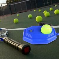 Tennis Singles Training Practice Tool Exercise Self-study Rebound Ball Baseboard