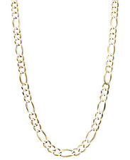 "New Lower Price!!!! 22"" Men's Figaro Chain Necklace in 14k Gold"