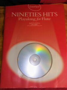 Nineties Hits: Playalong for Flute Sheet Music Songbook + CD