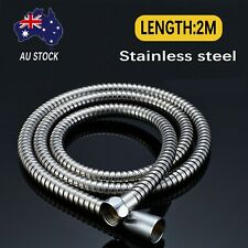 Shower Hose 2m Flexible Stainless Steel Extra Long Anti Twist Disabled Au