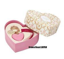 2017 Limited Valentine Laduree Keychain Pink Heart Macaron Bag Charm w Gift Box