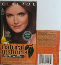 12 Clairol Natural Instincts 14 Light Cool Brown Hair Color