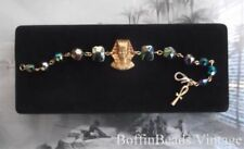 Bracelet Glass Vintage Costume Jewellery (1960s)