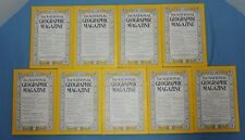 National Geographic Magazine ~ 1948 year set -- (9 of 12 issues)