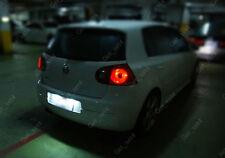 VW Golf MK4 MK5 TDI TSI GTI ERROR FREE Number Plate Light 7000K WHITE LED BULBS
