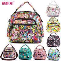 Women Messenger shoulder Satchel cross body lunch bag Shopping Tote bag Handbag