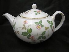 Wedgwood Wild Strawberry Teapot 1.4 Pt Brand New with Tag # 50105506091