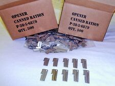 P38 Army & Marines Can Opener 10 Piece Made For US Military For Vietnam & WWII