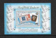 SEYCHELLES SOUVENIR SHEET #708 (NH) FROM 1990