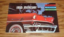 1955 Mercury Foldout Sales Brochure 55 Montclair Monterey Custom