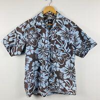 Stussy Hawaiian Shirt Vintage Made In Australia Mens Size Medium Faded Worn