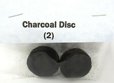 Charcoal Discs Pac of 2 Burn Incense Fragrance Meditation Ceremony Purification