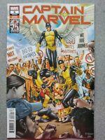 ⭐️ CAPTAIN MARVEL #6b (lgy 140) (2019 MARVEL Comics) VF/NM Book