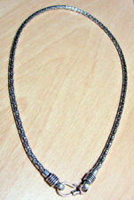 925 STERLING SILVER 4MM SOLID BALI CHAIN 25.7 GRAMS (18 INCHES) NO STONE