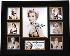 New Marilyn Monroe Signed Limited Edition Memorabilia Framed