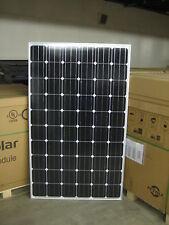 10- 255 WATT SOLAR PANELS MONO SOLAR CELL 24 VOLT GRID TIE @@UL LISTED@@ A GRADE