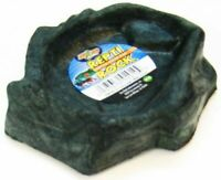 """LM Zoo Med Repti Rock - Reptile Water Dish X-Small (4.5"""" Long x 4"""" Wide)"""