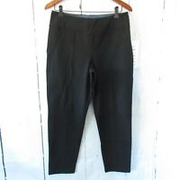 New Women With Control Slimming Shaping Pants M Medium Petite Black Pull On QVC