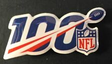 """NFL 100TH ANNIVERSARY LAPEL PIN COLLECTOR 1.25"""" METAL BASE FULL COLOR LIMITED"""