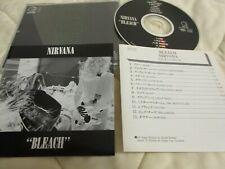 NIRVANA / bleach /JAPAN LTD CD  1st press