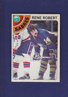 Rene Robert 1978-79 O-PEE-CHEE OPC Hockey #188 (VGEX) Buffalo Sabres