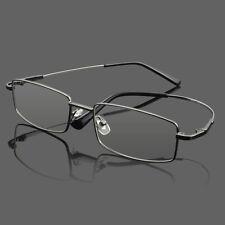 Mens Clear Glasses Frame Myopia Reading Eyeglasses Metal Spectacles Eyewear