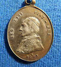 Old medal of the Pope Leon XIII