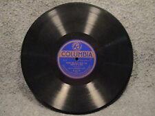 "78 RPM 10"" Record Al Jolson N Evrything & Sterling Trio Columbia Records A2519"