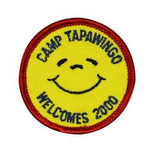 Camp Tapawingo Scout Badge Patch Welcome 2000 Embroidered Sew On Applique