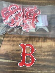 Lot 30 Boston Red Socks Embroidered Iron On Patch