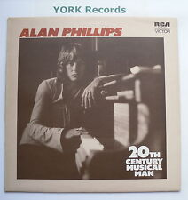 ALAN PHILLIPS - 20th Century Musical Man - Ex Con LP Record RCA Victor SF 8315