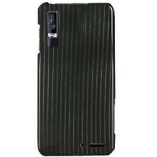 For Motorola Droid 3 Protector Hard Case Snap on Phone Cover Black Lines