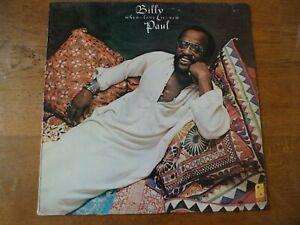 "LP ORIGINAL HOLLANDE 1975 BILLY PAUL  "" WHEN LOVE IS NEW ""  NM"