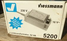 Viessmann 5200 N, Tt, H0 Light Transformer 16 V Power 52 Vaz neuwertig Boxed