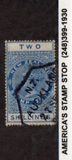 1882 New Zealand SC AR1 Revenue Fiscal Used - Postal Cancel, Auckland*